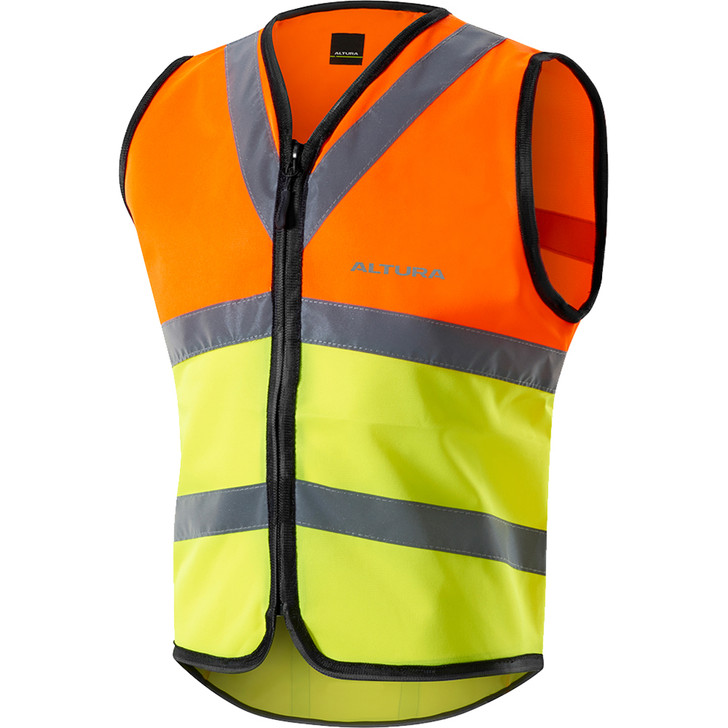 Altura Nightvision Safety Vest with reflective details and hi-vis fabric - front