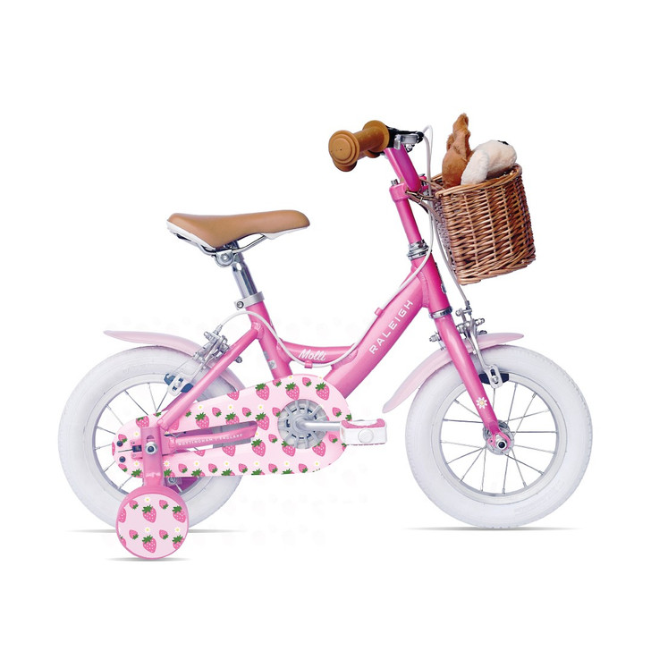 "Raleigh Molli 12"" Girls Bike - Pink"