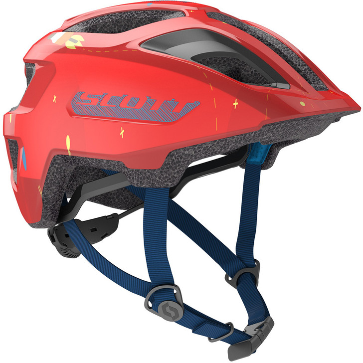 Scott Spunto Kid Helmet -Fiery Red