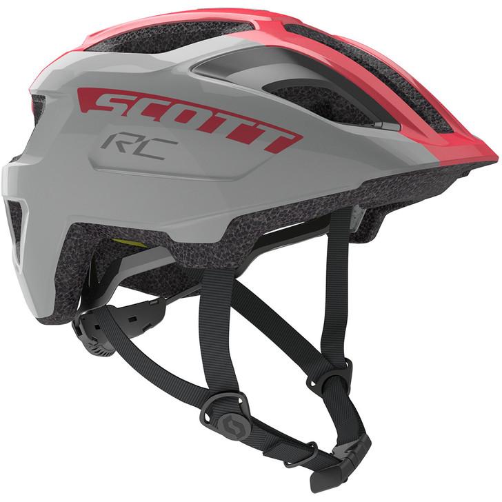 Scott Spunto Junior + Helmet - Vogue Silver/Pink