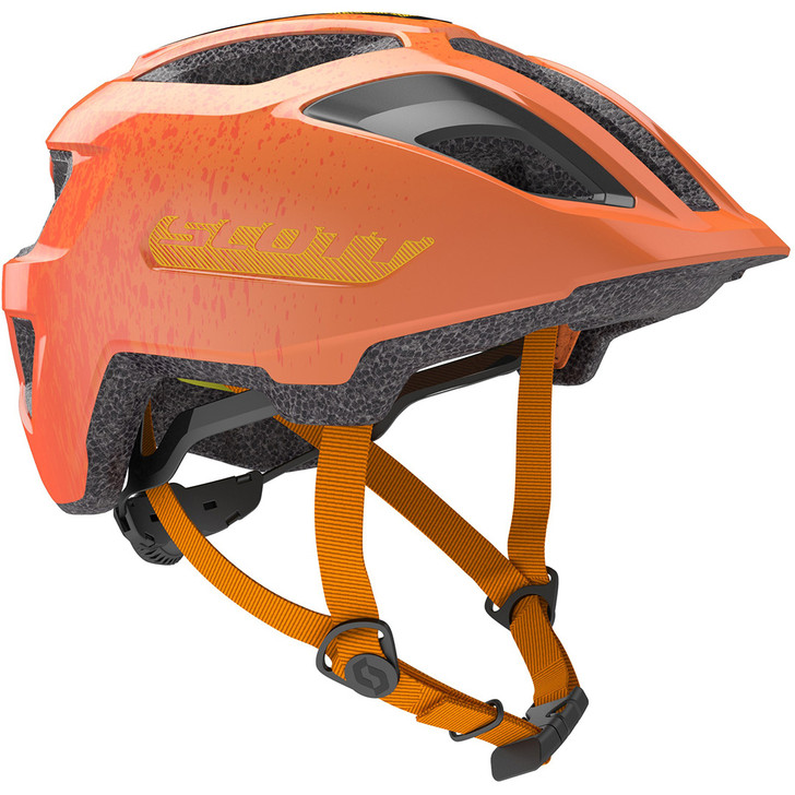 Scott Spunto Junior + Helmet - Fire Orange