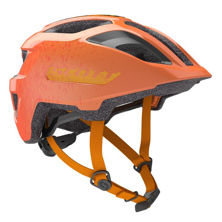 Scott Spunto Junior Helmet Fire Orange