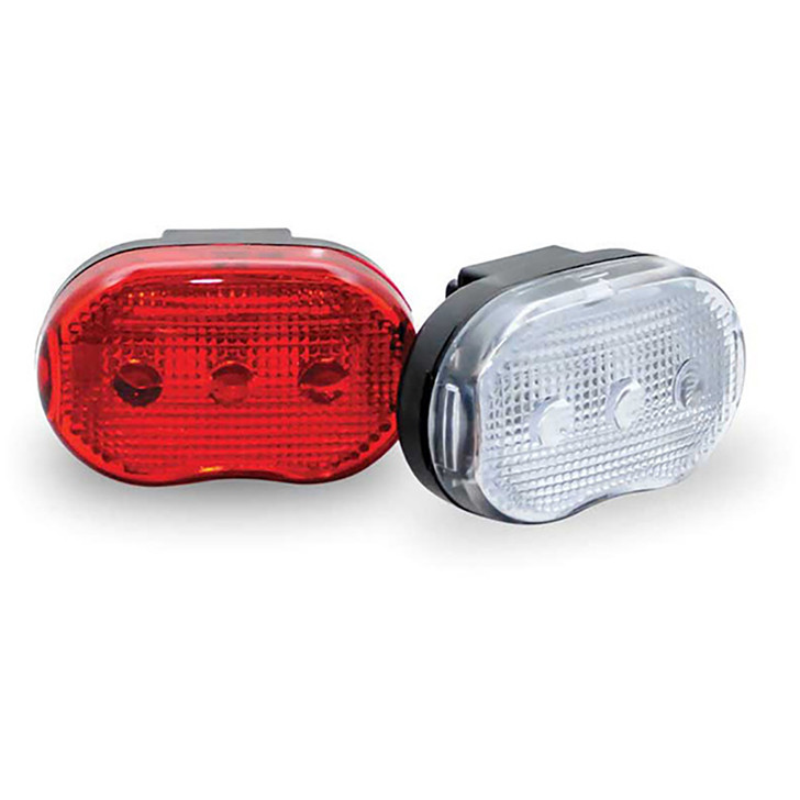 Raleigh RX 3.0 LED Bicycle Light Set (Front and Back)  - Eurocycles