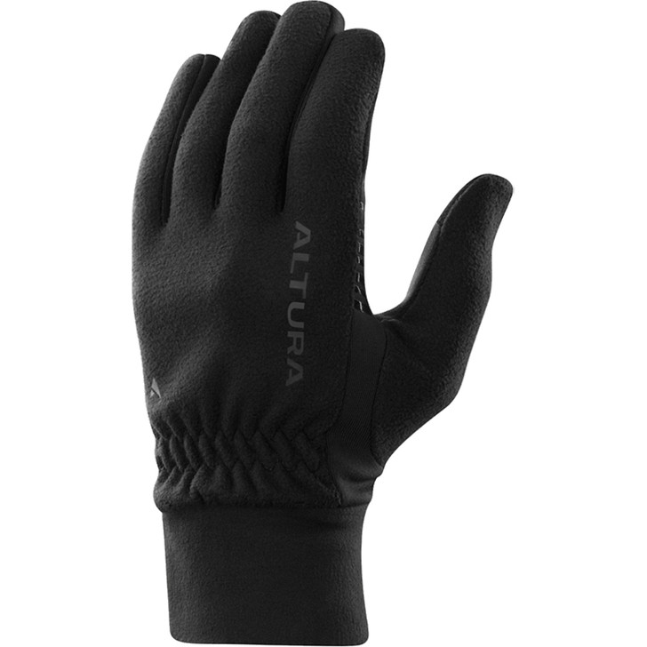 Altura Microfleece Windproof Gloves in Black
