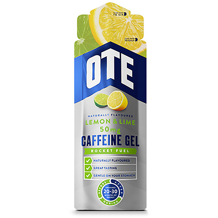 OTE Lemon & Lime Caffeine Energy Gel - Eurocycles