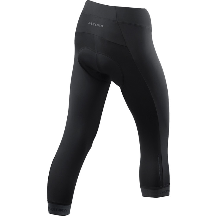 Back view of the Altura Womens Progel 3 3/4 Waist Tight - Eurocycles