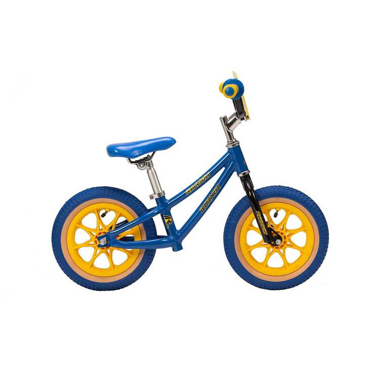 "Raleigh Balance Bike Burner 12"" Boys Bike - Blue"