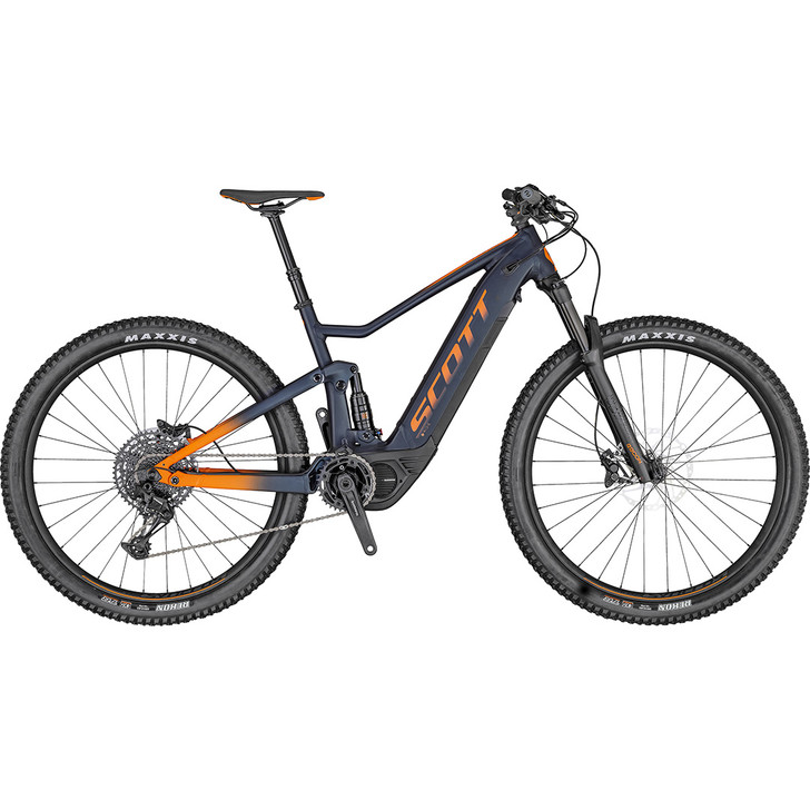 Slick looking Scott Spark 920 electric mountainbike 2020 with Shimano STEPS E8000 drive system