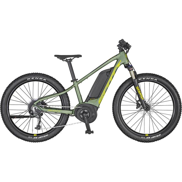 Stunning Scott Roxter 24 electric kids bike with Bosch Drive System
