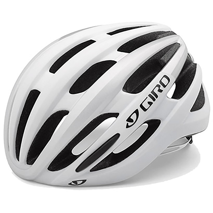 Giro Foray Road Cycling Helmet White/Silver- Eurocycles