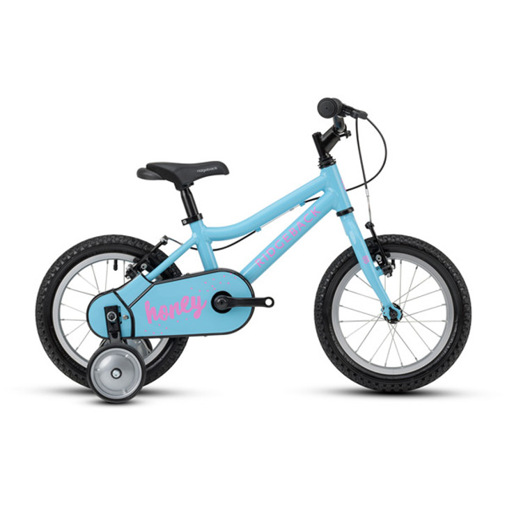 "Ridgeback Honey 14"" Girls Bike - Blue - 3 to 5 years old"