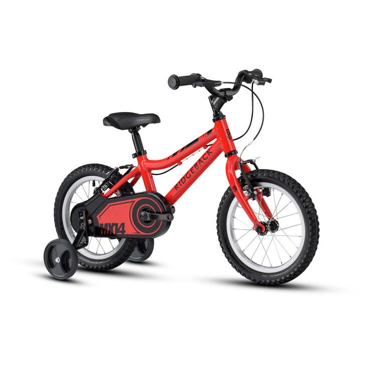 "Ridgeback Mx14 14"" Boys Bike - Red - 3 to 5 years old"