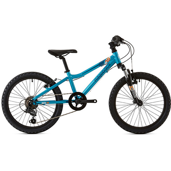 "Ridgeback Mx20 20"" Boys Bike Side - Blue - 6 to 10 years old - Eurocycles"