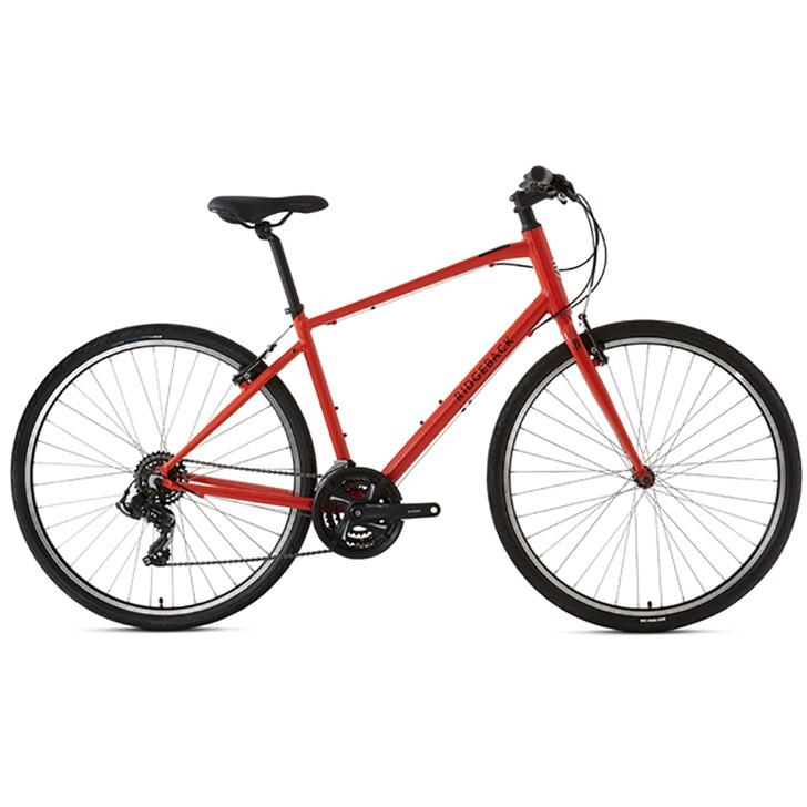 Ridgeback Motion Hybrid Bike (2020) - Orange  - Eurocycles