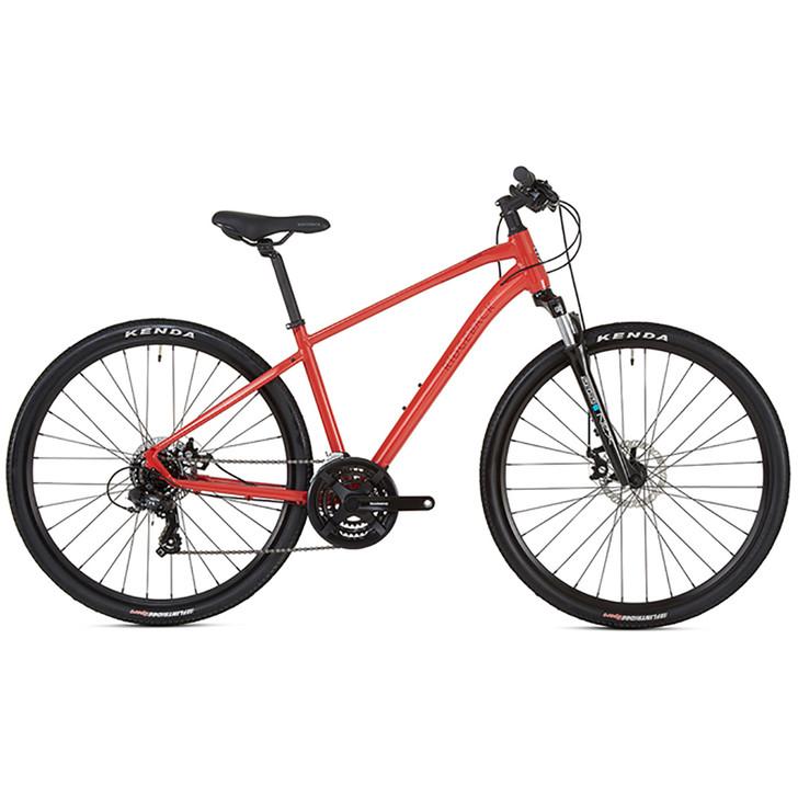 Ridgeback Nemesis Hybrid Bike (2020) - Red - Eurocycles