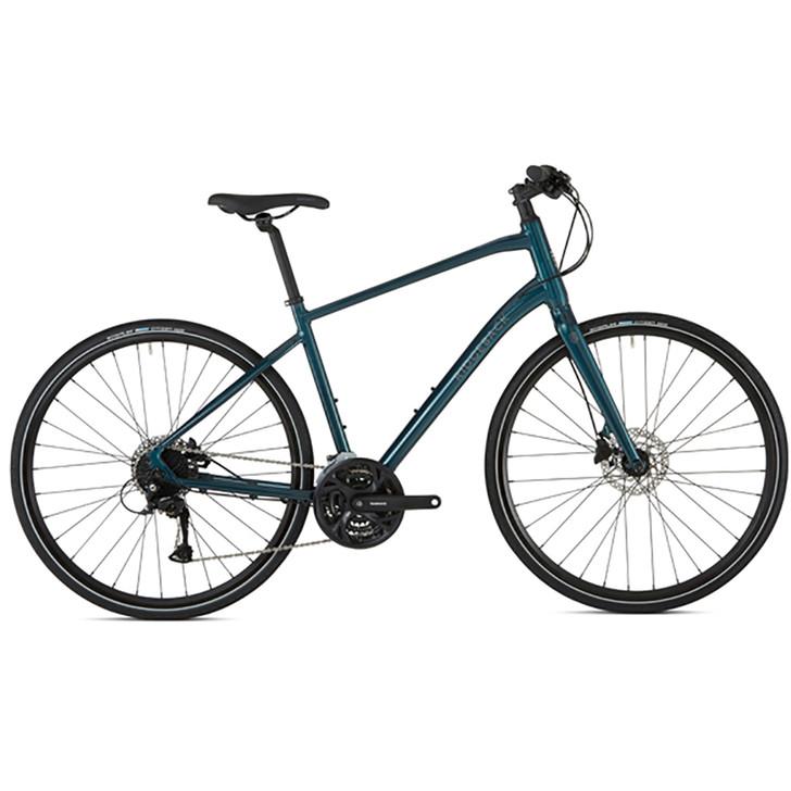 Ridgeback Element Hybrid Bike (2020) - Blue - Eurocycles