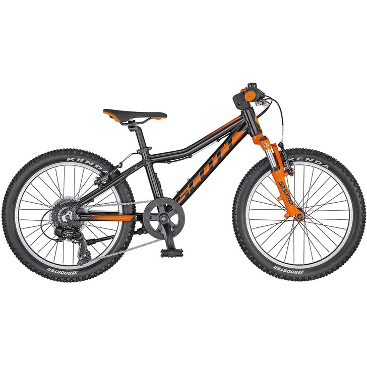 Scott Scale 20 Inch  Black/Orange Bike (2020) full view on sale on eurocycles.com