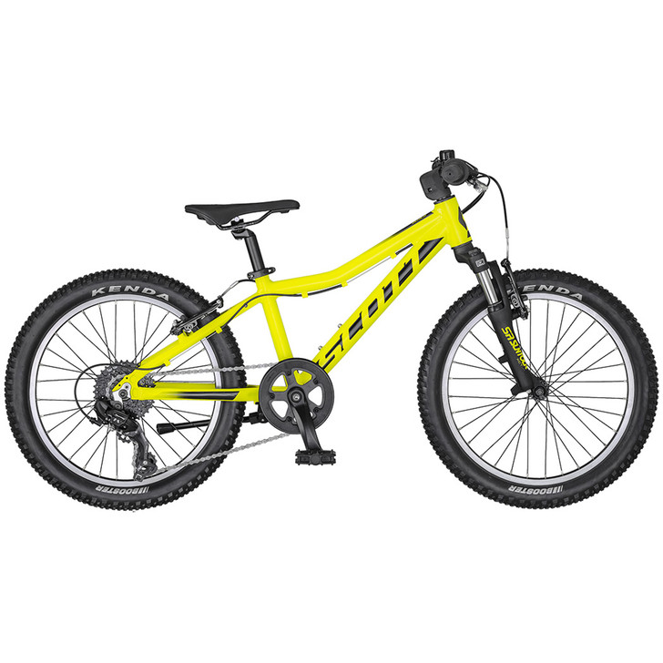Scott Scale 20 Yellow/Black Bike (2020) full view on sale on eurocycles.com