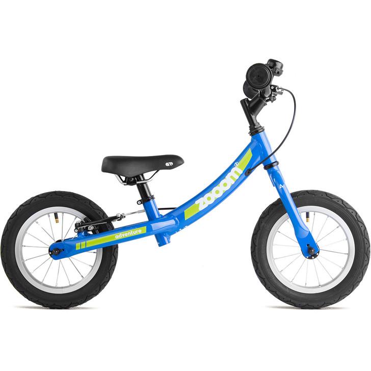 Adventure Outdoor Co. Zooom Blue balance bike on sale eurocycles.com