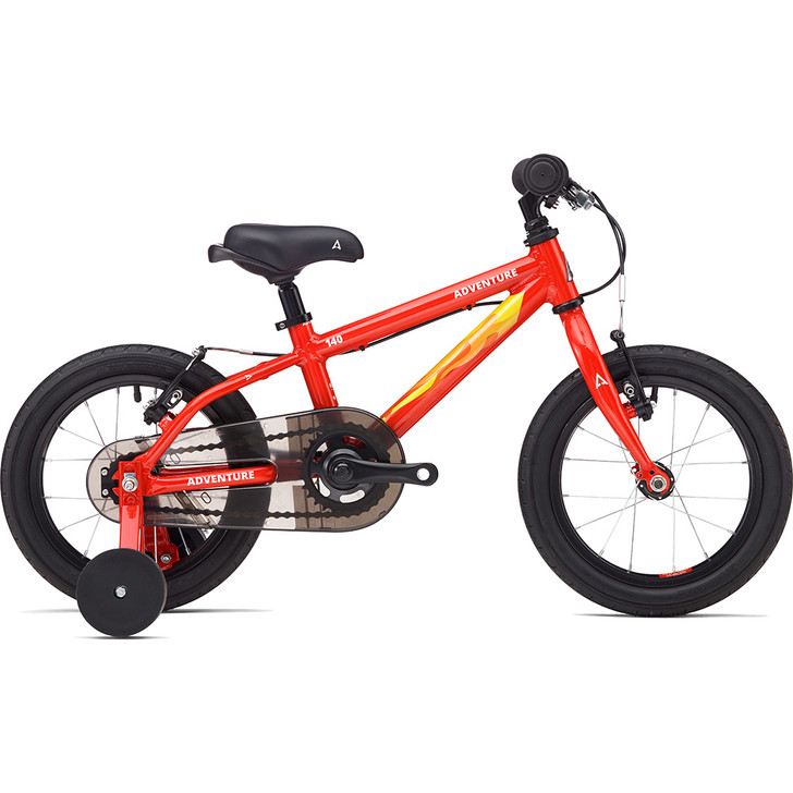 Adventure Outdoor Co. 140 Boys 14inch Bike red on sale eurocycles.com