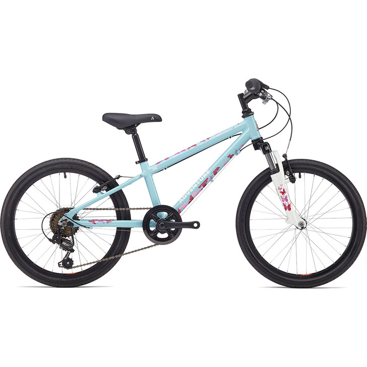 Adventure outdoor co. 200 Girls 20 inch 7 to 9 years old bike blue on sale eurocycles.com