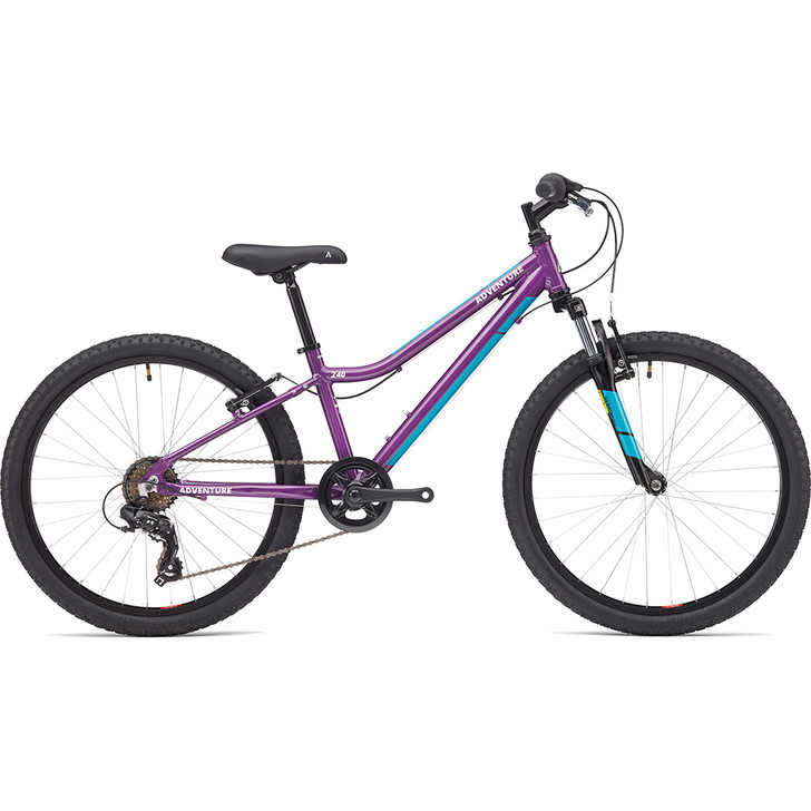 Adventure Outdoor Co. 240 Girls 2 inch9 to 11 years Bike purple on sale eurocycles.com