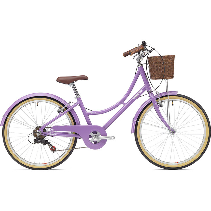 Adventure Lola 2 imch 9 to 11 years old girls bike with front basket on sale eurocycles.com
