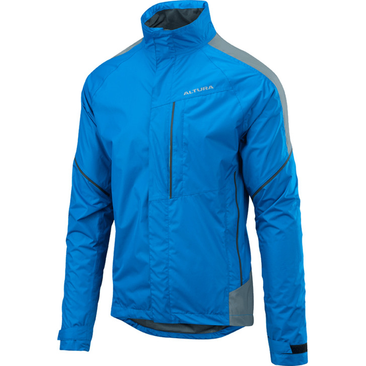 Altura Nightvision Twilight Jacket in blue with reflective shoulders