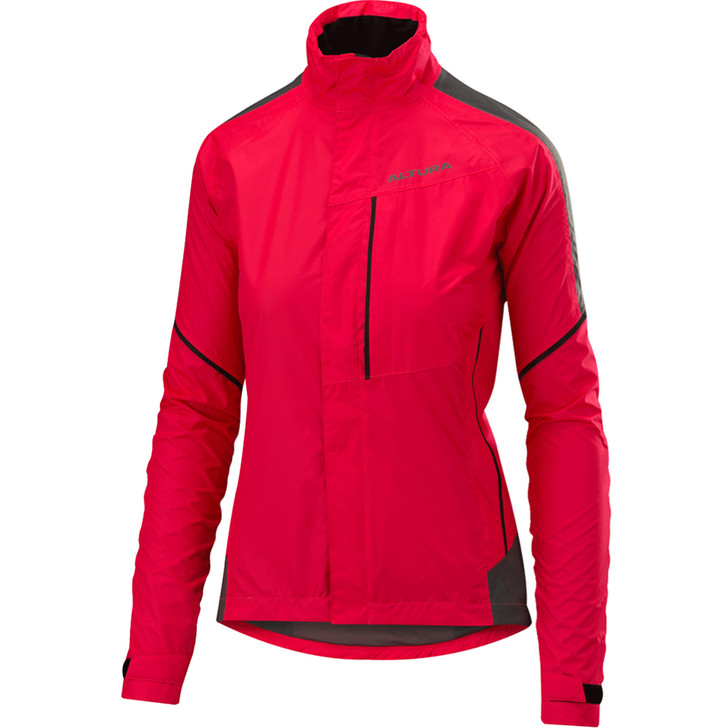 Women's Nightvision Twilight Jacket in pink with chest pocket
