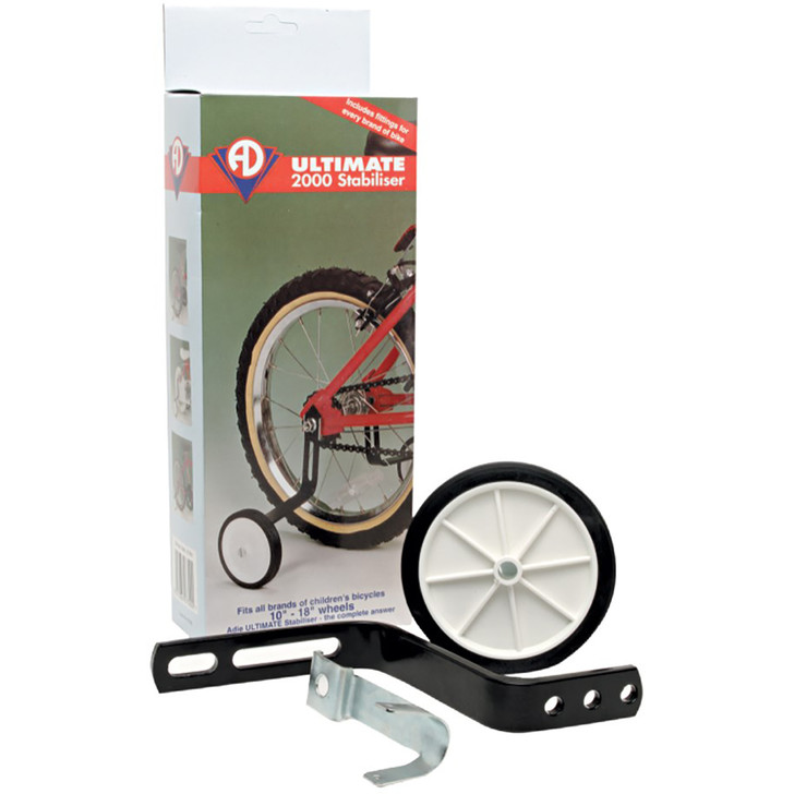 Adie Universal Stabiliser for kids bike out of the box
