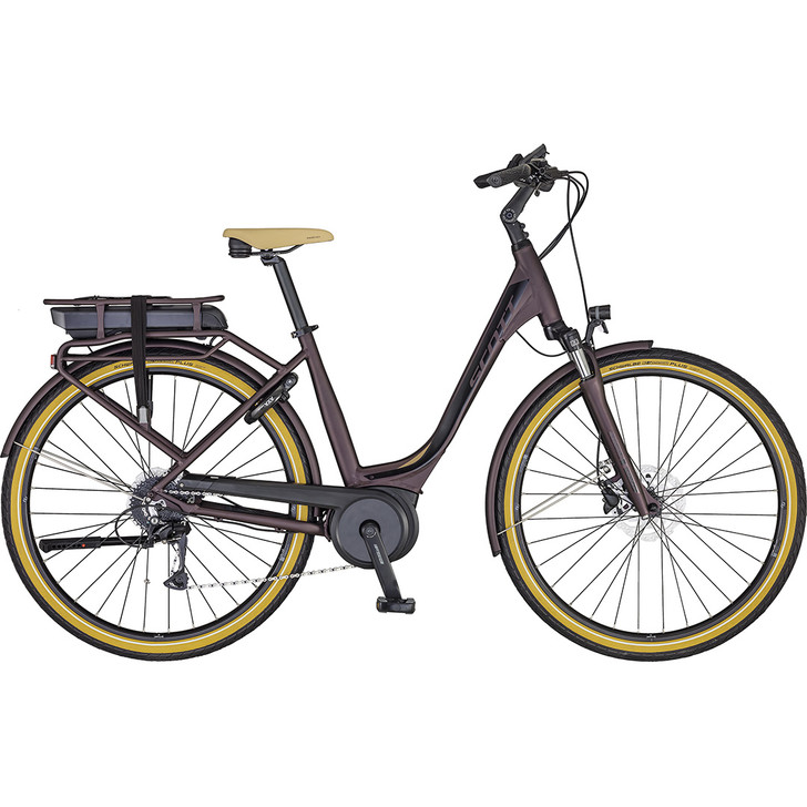 Scott Sub Active 10 electric hybrid bike with Bosch Active Plus motor