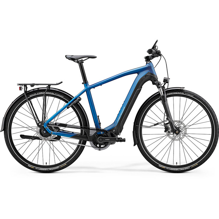 Merida eSpresso 700 EQ electric hybrid bike perfect for commuting and touring with Shimano E6100 drive system.