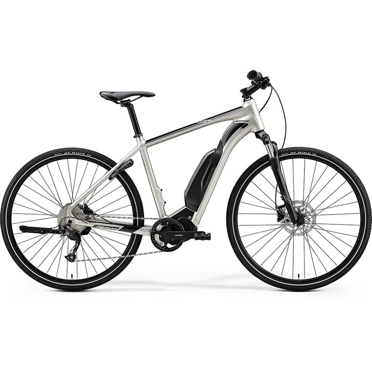 Merida electric hybrid bike eSpresso 200 SE for women with Shimano motor, battery and groupset