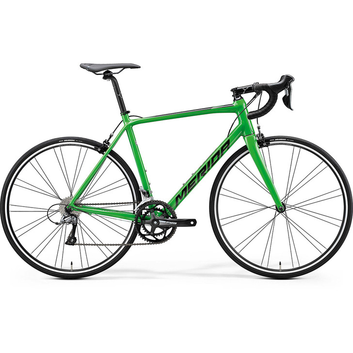 Merida Scultura 100 road bike in green