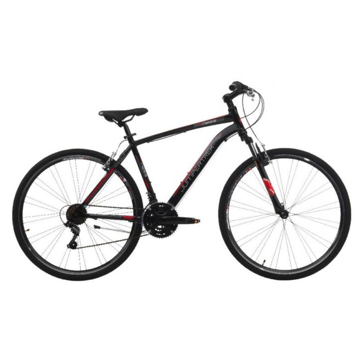 Jumpertrek Fitness V Brake Mens Bike Black