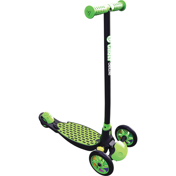 YGlider Deluxe Kids Scooter Green