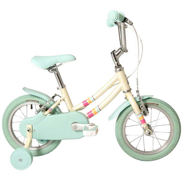 "Raleigh Pop 14"" Girls Bike - White"