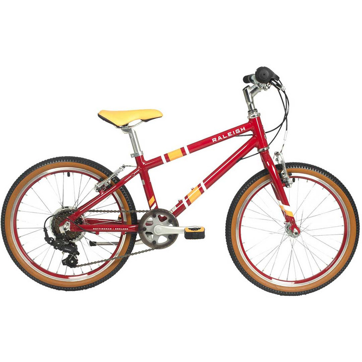 "Raleigh Pop 20"" Girls Bike - Plum"