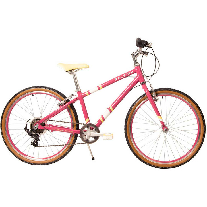 "Raleigh Pop 24"" Girls Bike - Cherry"