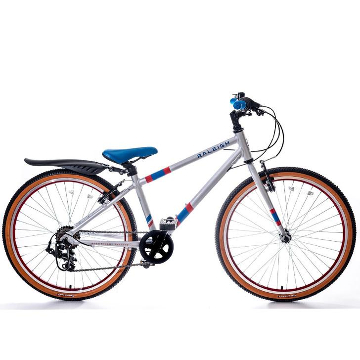 "Raleigh Pop 24"" Boys Bike - Silver"