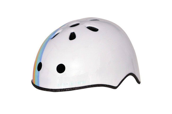 Raleigh Pop Children's Helmet White