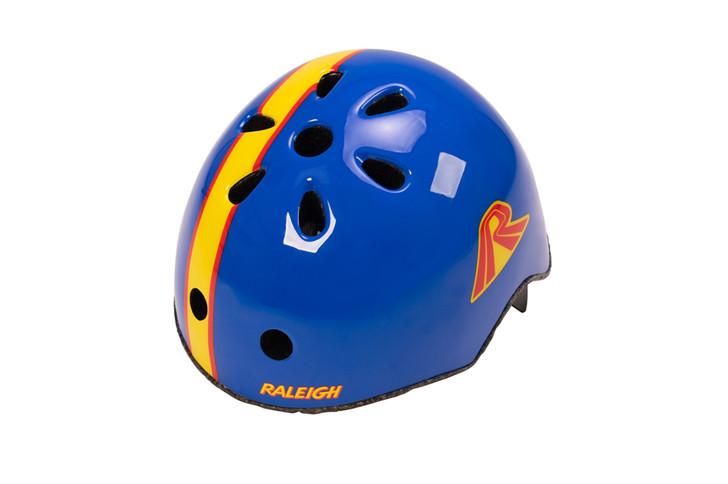 Raleigh Mag Burner Children's Helmet Blue