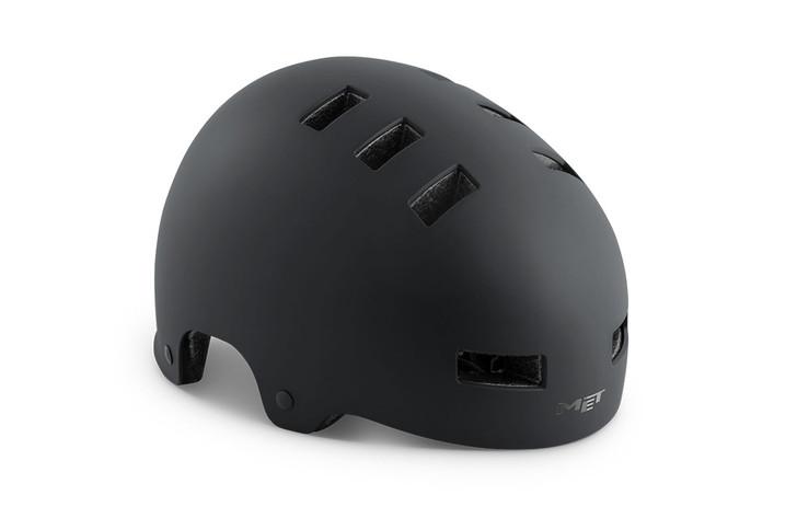 Met Zone Helmet- MATT BLACK