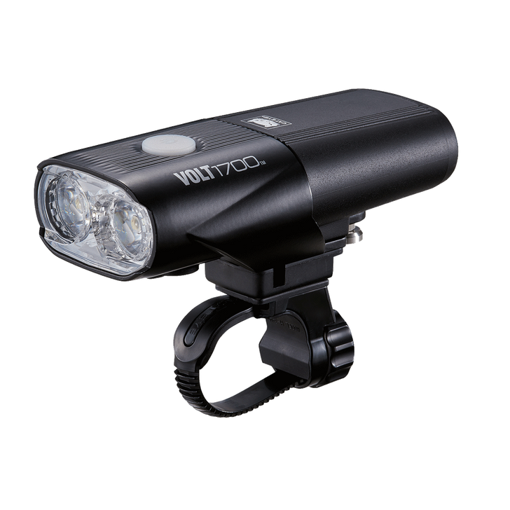 Cateye Volt 1700 Front Light USB Rechargeable- Side view