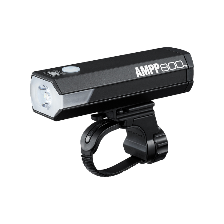 Cateye AMPP 800 Front Light USB Rechargeable- Side view
