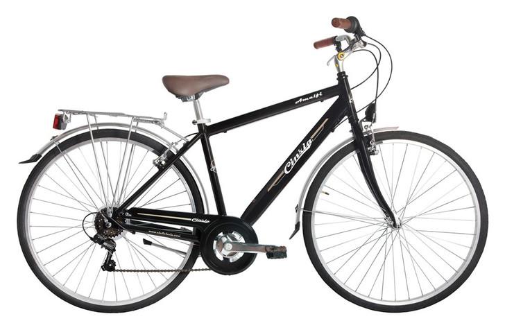 Cicli Cinzia Amalfi Mens Aluminium Bike Black