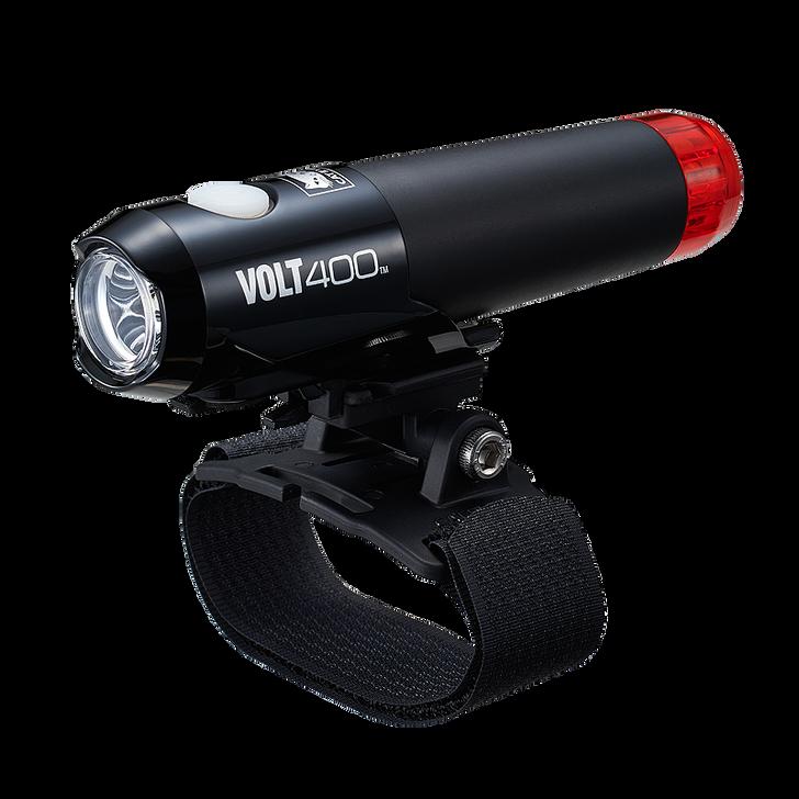 Cateye Volt 400 Helmet Front/Rear Rechargeable light