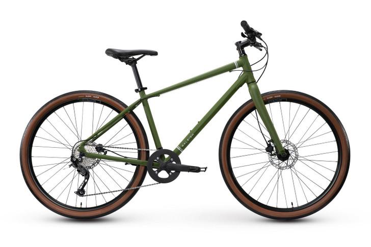 Raleigh Redux 2 Hybrid Bike Green