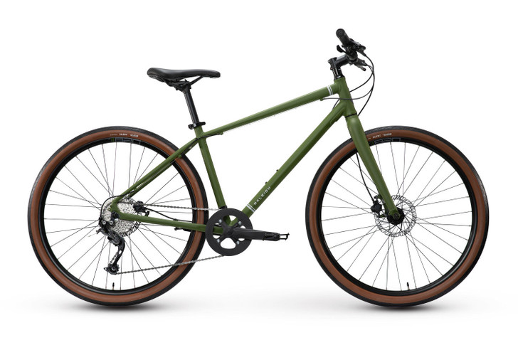 Raleigh Redux 2 Hybrid Bike Green