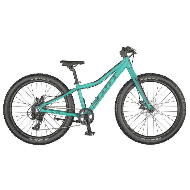 """Scott Roxter 24"""" Teal Blue Bike (2021) - 7 to 10 Years old"""